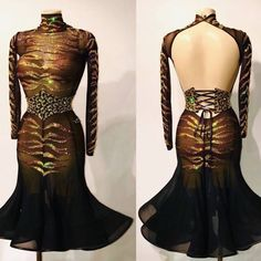 🎁 FREE SHIPPING 🚚 🛒 Order on the website www.ddressing.com - - - #latin #practicewear #proamdance #sexydancewear Ballroom Dresses For Sale, Black Mesh, Dance Costumes, Dress Brands, Dresses With Sleeves, Free Shipping, Website, Lady, Long Sleeve