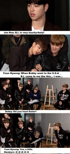 "so cute <3 #iKOn #funny #kpop  _in ""Pops in Seoul"""