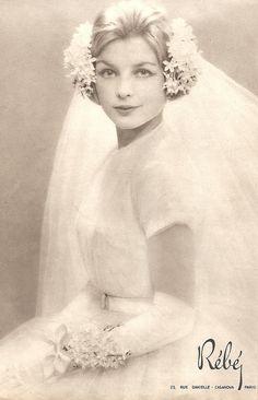 Bride in 1958