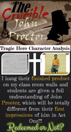 The crucible essay on john proctor