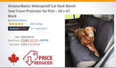 Bench Seat Covers, Rear Seat, Pets, Seat Covers, Animals And Pets