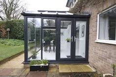 Image result for coloured upvc conservatory styles