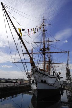 HMS Gannet at Chatham Dockyards Museum