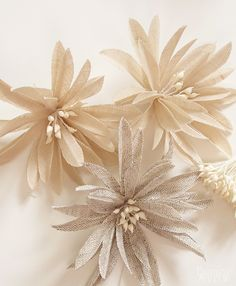 handmade linen flowers#Repin By:Pinterest++ for iPad#