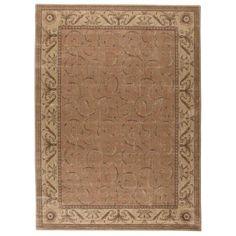 Nourison Somerset Scrollwork Decorative Woven Area Rug, Orange