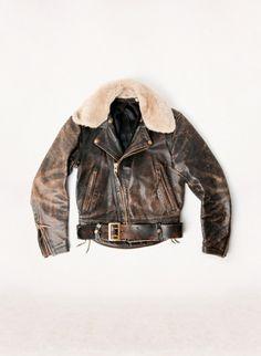 thestylebuff:  vintage langlitz leather jacket