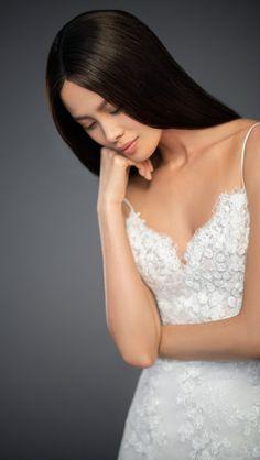 Lazaro Style 3853 Milena Bridal Gown Front