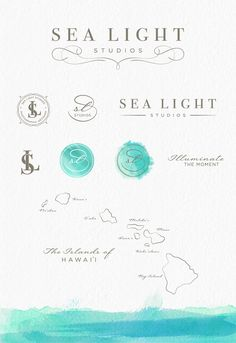 Sea Light Studios Photography Branding and Identity Design