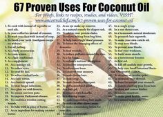 Coconut Oil is a superfood & essential fatty acid with countless benefits! I put about a tablespoon in my coffee every morning or just take it straight. I also heat it up and massage it into my hair. This promotes growth while serving as a deep conditioner treatment! Pill form is available too