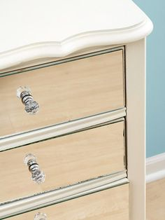 Bedroom Makeover: Re-Create a Designer Bedroom on a Budget with DIY Projects- mirrored dresser