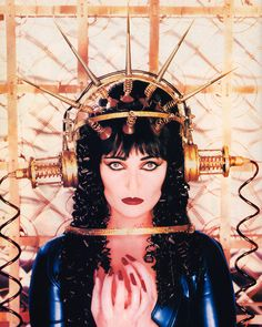 Siouxsie Sioux photographed by David Lachapelle for Details magazine, July 1995