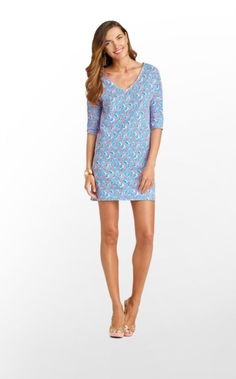 Lilly Pulitzer Summer '13- Eliza Dress in Cosmo Pink A Little Tipsy $98