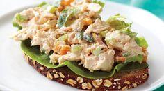 Apricot-Basil Chicken Salad , I prefer it with tarragon