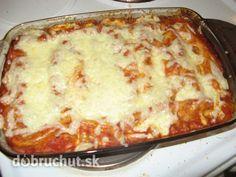 Skvelé domáce cannelloni - Fakt výborné, nebíčko v papuľke :-)