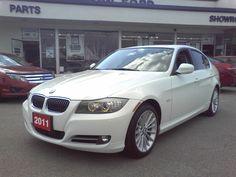 2011 BMW 3 Series 335i Sedan - 300 HP |4YR WARR| NAVI  **********Internet Price $39,888 + Sales Taxes******* 4 door Sedan Drivetrain RWD Engine 6-Cyl Twin Turbo 3.0LTransmission Automatic Ext. Colour White Int. Colour Black Kilometres 41,303 Stock Number 12FU833-1