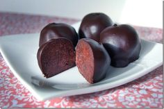 Devil's Cake Balls is a delicious treat in bite sizes that will surely cure any chocolate craving! The recipe is on Soupbelly and is perfect for parties...or for yourself.