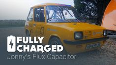 Johnny Smith's utterly brilliant Flux Capacitor, the updated 1974 Enfield 8000 ECC.