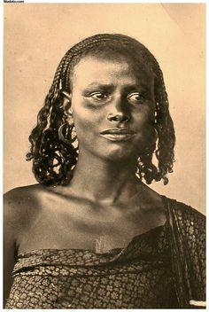Eritrea - Eritrean woman 1937