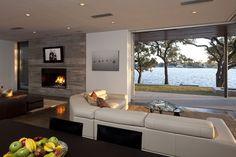 contemporary living room / family room contemporary living room
