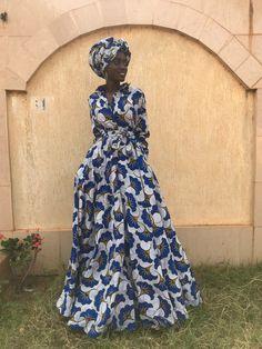 Latest African Fashion Dresses, African Print Dresses, African Dresses For Women, African Clothes, Long Shirt Dress, Black Long Sleeve Dress, Black Evening Dresses, Long Dresses, Wedding Dresses With Flowers