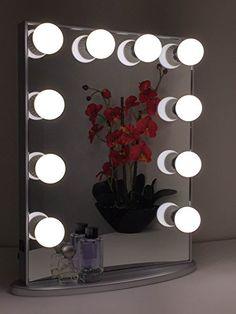 Hollywood Glow Vanity Mirror By Impressions Vanity Large (Glittery Silver) Impressions Vanity http://www.amazon.com/dp/B00WHEWOYM/ref=cm_sw_r_pi_dp_PiTtvb151QB4G