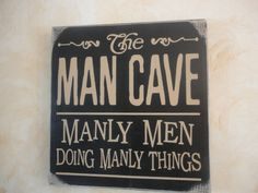 Man Cave Signs At Hobby Lobby : Personalize bar rules sign man gift cave custom pub