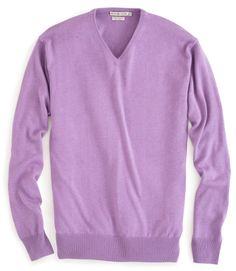 Peter Millar   Silk-Cotton-Cashmere V-Neck Sweater