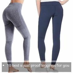 Finding a great pair of gym leggings, can be a workout on its own because not every pair that claims to be the best squat proof leggings actually is. Cheap Gym Leggings, Best Leggings For Work, White Workout Leggings, Workout Leggings With Pockets, Running Leggings, Best Lululemon Leggings, Affordable Activewear, Plus Size Workout, Athleisure Outfits