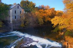 Drinkwater & Schriver Flour Mill, Cedar Point, Kansas by earlycj5