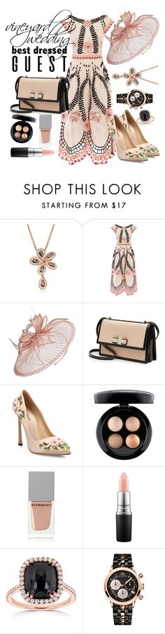 """Best Dressed: Classic Pink and Black"" by xoxolua ❤ liked on Polyvore featuring Roberto Coin, Temperley London, Nordstrom, Salvatore Ferragamo, Giambattista Valli, MAC Cosmetics, Givenchy, Kobelli, 88 RUE DU RHONE and napa"