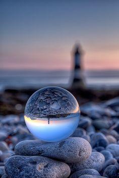 Spherical lighthouse | Kev Lewis | Flickr
