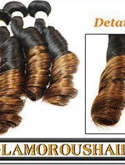 """3Pcs/Lot 12""""-26"""" Unprocessed Brazilian Virgin Remy Hair Ombre Color ... – USD $ 127.10"""