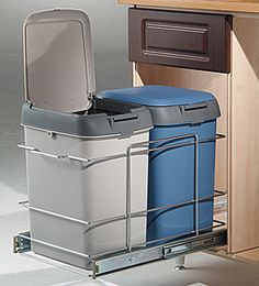 Kitchen Waste Bins: Limited stock of top value soft close pull out baskets NOW AVAILABLE! Description from kitcuup.com. I searched for this on bing.com/images
