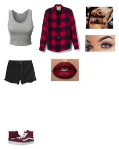 """Untitled #313"" by klarabahnik on Polyvore featuring Banana Republic, LE3NO, Alexander Wang and Vans"