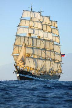 Tall Ship Race in Aalborg, Denmark | Kruzenshtern