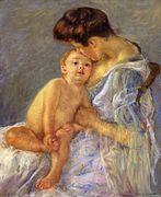 Motherhood II - Mary Cassatt - www.marycassatt.org