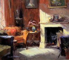 Australian Impressionist Colley Whisson / Paint Talk / Chroma