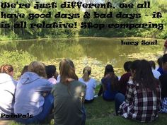"""Blog post: """"A Chronic Comparison?"""" We're all different....it is all relative"""