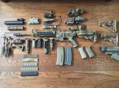 Airsoft Guns, Weapons Guns, Guns And Ammo, Assault Weapon, Assault Rifle, Military Guns, Military Life, Battle Rifle, Cool Guns