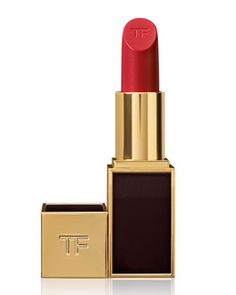 Tom Ford Cherry Lush. Hands down the best red on any skin and hair tone! Love it.
