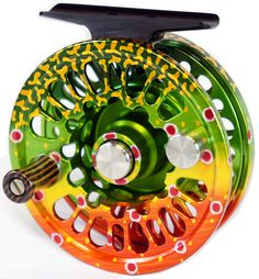 brook trout fly reel, would luv to fish this!