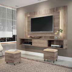 panel para lcd led modular rack mueble moderno linea nueva