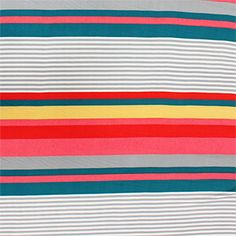 Cancun Cabana Stripe Rayon Challis Fabric