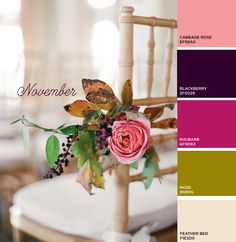 Dear Miss Modern November Color Palette