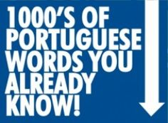Similarities Between Portuguese and English