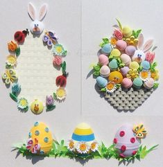 www.customquillin... New Easter Collage Kit