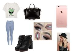 """""""Sans titre #405"""" by abye980 on Polyvore featuring mode, Topshop et Givenchy"""
