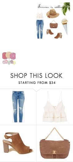 """""""Summer is calling..."""" by alihorin on Polyvore featuring Ted Baker, MANGO, Hollister Co., Chanel, Scala, Summer and beach"""