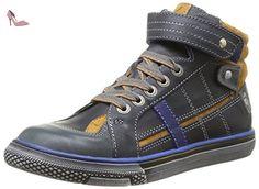 Catimini Cleo, Chaussures de ville garçon - Gris (42 Ctv Ardoise/Ocre), 30 EU - Chaussures catimini (*Partner-Link)