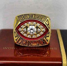 Washington Redskins Football ~ World Champions Super Bowl ring